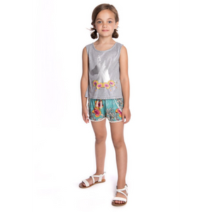 Appaman Tao Shorts - Ocean Flower - Bloom Kids Collection - Appaman