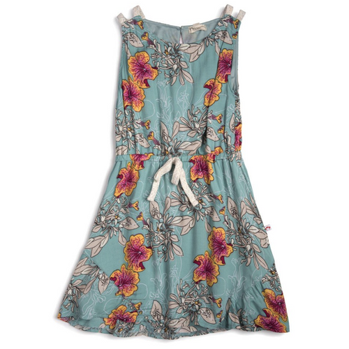 Appaman Tinos Dress - Ocean Flower - Bloom Kids Collection - Appaman