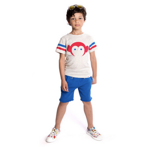 Appaman Camp Shorts - City Blue - Bloom Kids Collection - Appaman