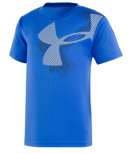 Under Armour Swirl Big Logo (SS) - Ultra Blue - Bloom Kids Collection - Under Armour