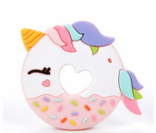 Loulou Lollipop Teether - Pink Unicorn - Bloom Kids Collection - Loulou Lollipop