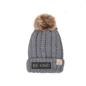 BE Kind CC Pom Beanies - Bloom Kids Collection - Some 1 Like You