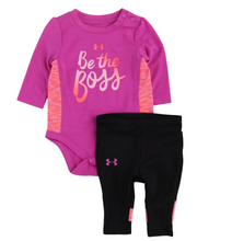 Under Armour Be The Boss Set - Fuchsia - Bloom Kids Collection - Under Armour