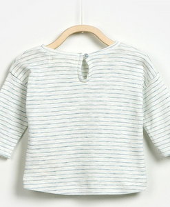 Play Up Striped Long Sleeve Tee - Bloom Kids Collection - Play Up