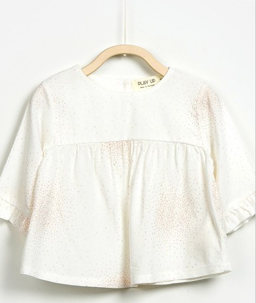 Play Up Woven Blouse