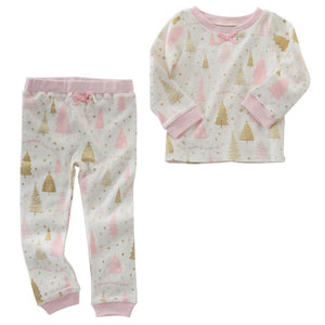 Mud Pie Season To Sparkle Pajama Set - Bloom Kids Collection - Mud Pie