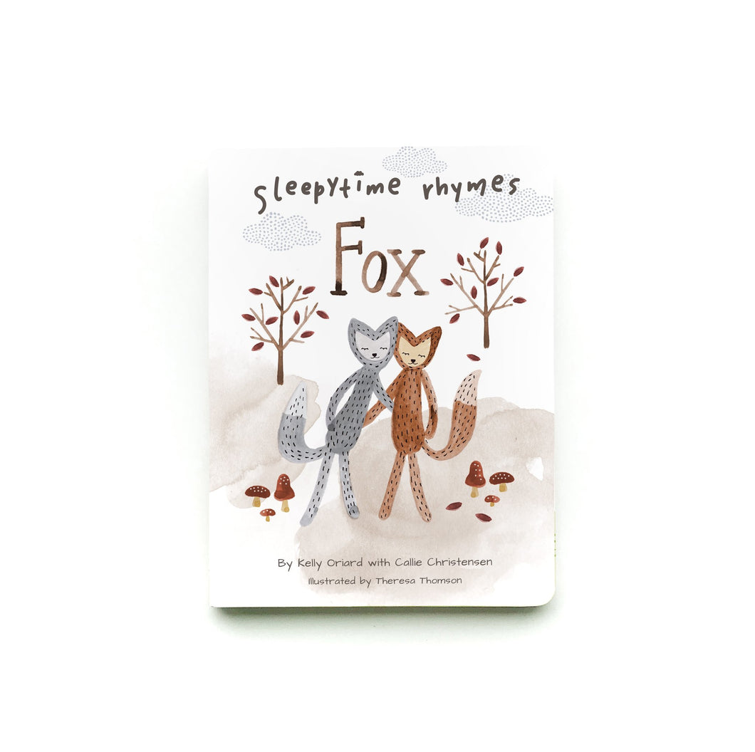 Slumberkins Sleepytime Rhyme Books - Fox - Transitions - Bloom Kids Collection - Slumberkins