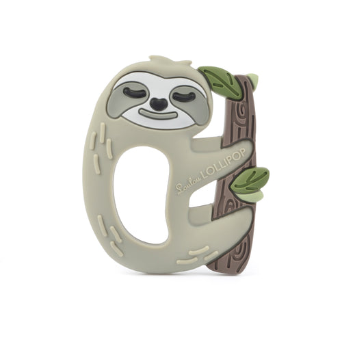 Loulou Lollipop Teether - Sloth - Bloom Kids Collection - Loulou Lollipop