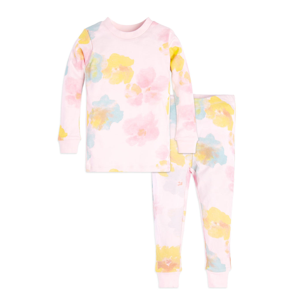 Burt's Bees Toddler Morning Dew Tee & Pant Set - Dawn - Bloom Kids Collection - Burt's Bees