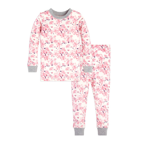 Burt's Bees Toddler Waterlily Tee & Pant Set - Eggshell - Bloom Kids Collection - Burt's Bees