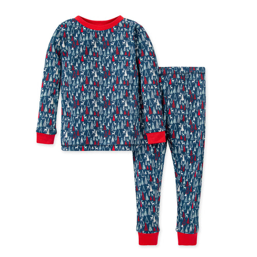 Burt's Bees Forest Frenzy Organic Holiday Pajamas