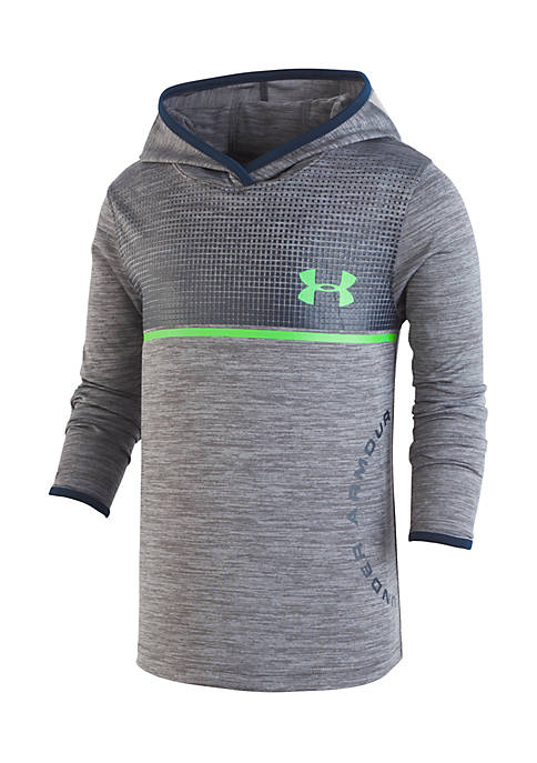 Under Armour Amped Twist Hoody - Steel
