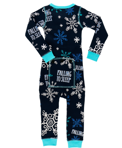 Lazy One Falling to Sleep Union Suit - Bloom Kids Collection - Lazy One