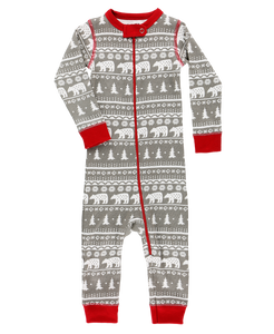 Lazy One Nordic Bear Unionsuit - Bloom Kids Collection - Lazy One