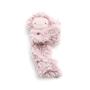 Slumberkins Bigfoot Snuggler - Ultra Plush - Blush Pink - Bloom Kids Collection - Slumberkins