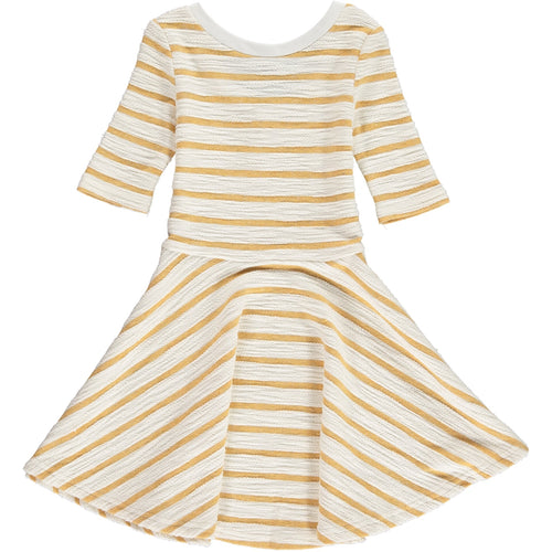 Vignette Abbey Dress - Honeycomb - Bloom Kids Collection - Vignette