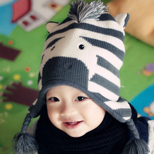 Zebra Hat - Bloom Kids Collection - Bloom Kids Collection