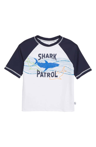 Flapdoodles Shark Rashguard - Bloom Kids Collection - Flapdoodles
