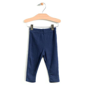 City Mouse Ribbed Legging - Midnight - Bloom Kids Collection - City Mouse