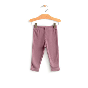 City Mouse Ribbed Legging - Orchid - Bloom Kids Collection - City Mouse