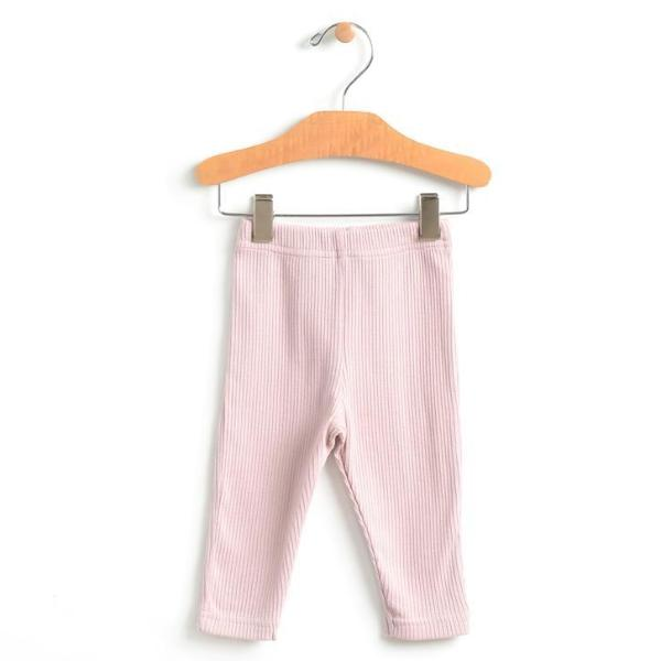 City Mouse Ribbed Legging - Mauve Blush - Bloom Kids Collection - City Mouse