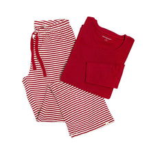 Burt's Bees Women's Candy Cane Tee & Lounge Pant - Bloom Kids Collection - Burt's Bees