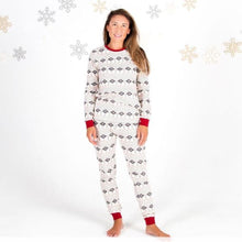 Burt's Bees Women's Hand Drawn Snowflake Tee & Pant Set - Bloom Kids Collection - Burt's Bees