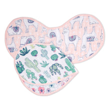 Aden + Anais Classic Burpy Bib - Trail Blooms 2-pack - Bloom Kids Collection - Aden + Anais