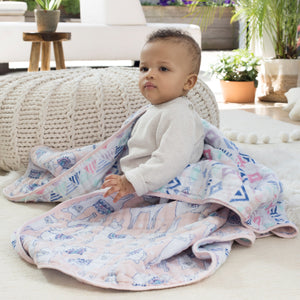 Aden + Anais Classic Dream Blanket - Trail Blooms - Bloom Kids Collection - Aden + Anais