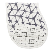 Aden + Anais Silky Soft Burpy Bib - Pebble Shibori - Bloom Kids Collection - Aden + Anais