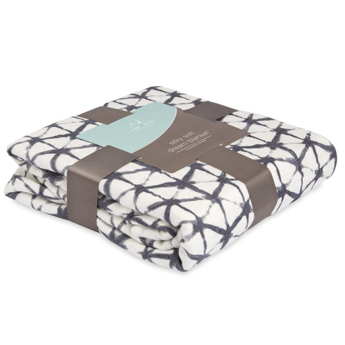 Aden + Anais Silky Soft Dream Blanket - Pebble Shibori - Bloom Kids Collection - Aden + Anais