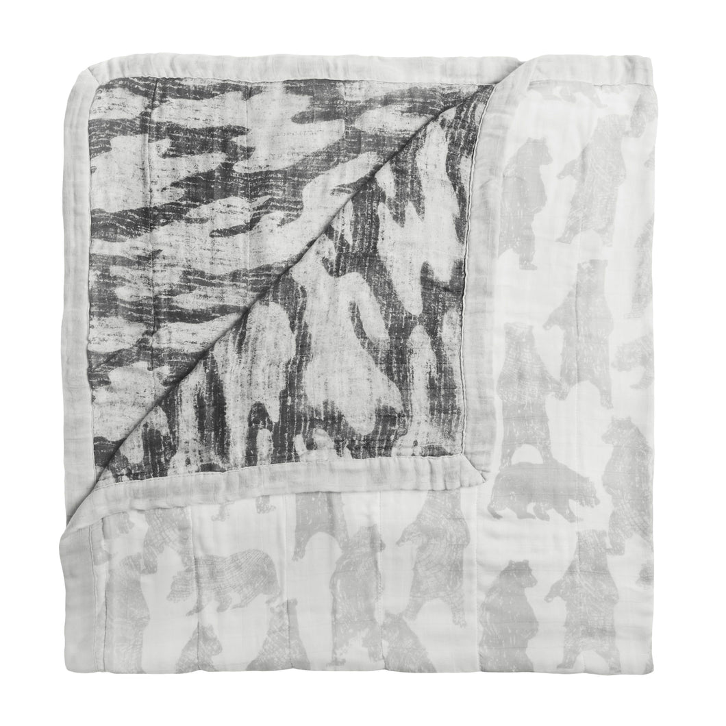 Aden + Anais Silky Soft Dream Blanket - Foragers - Bloom Kids Collection - Aden + Anais