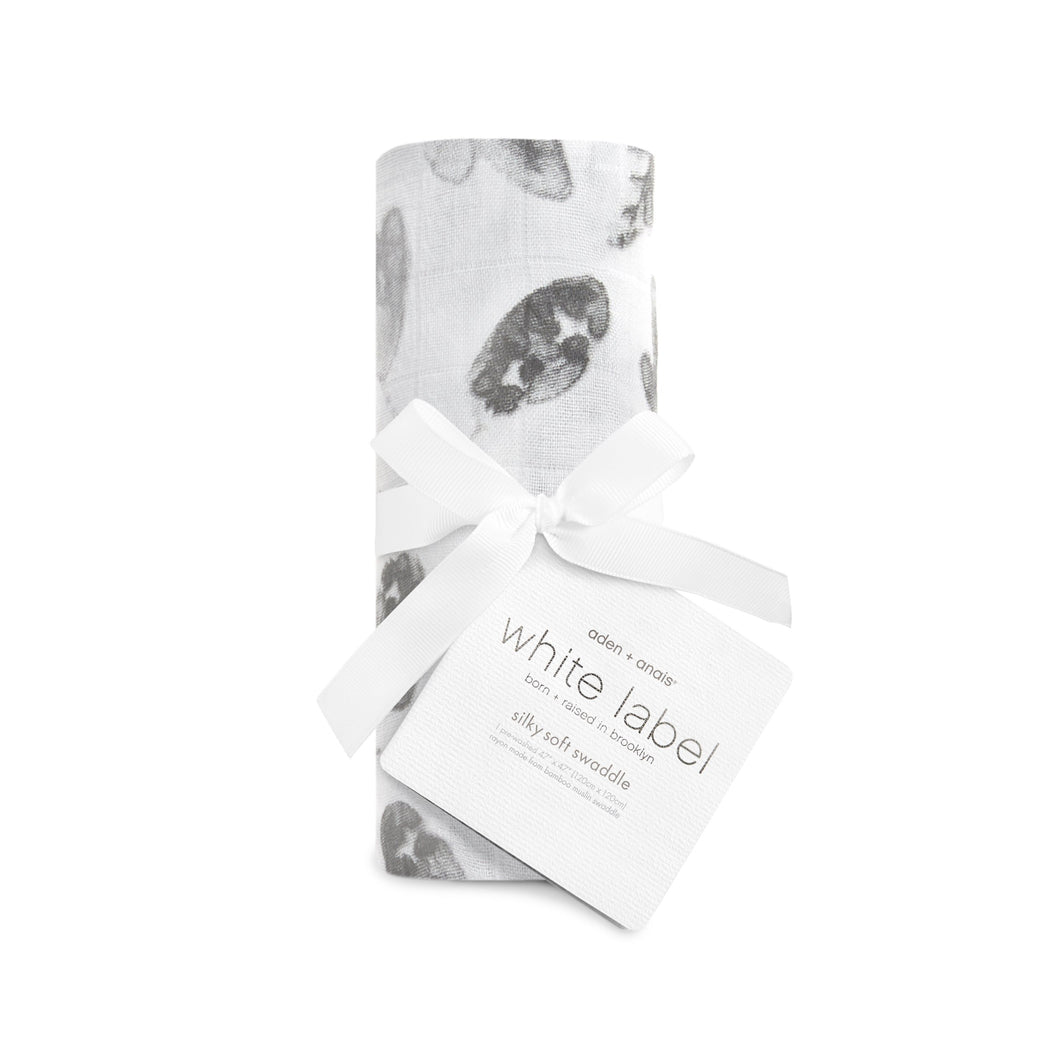 Aden + Anais Silky Soft Swaddle - Foragers Leaves - Bloom Kids Collection - Aden + Anais