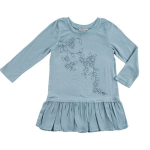 Mimi & Maggie Darjeeling Dusty Aqua Dress - Bloom Kids Collection - Mimi & Maggie