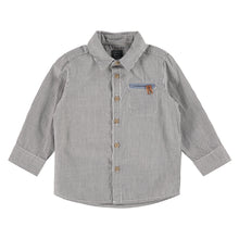 Babyface Boys Button Up - Grey