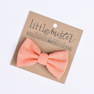 Little Mister Bow Tie - Coral