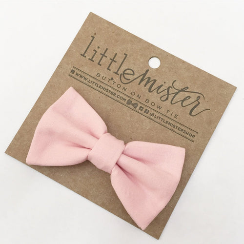 Little Mister Bow Tie - Blush Pink - Bloom Kids Collection - Little Mister