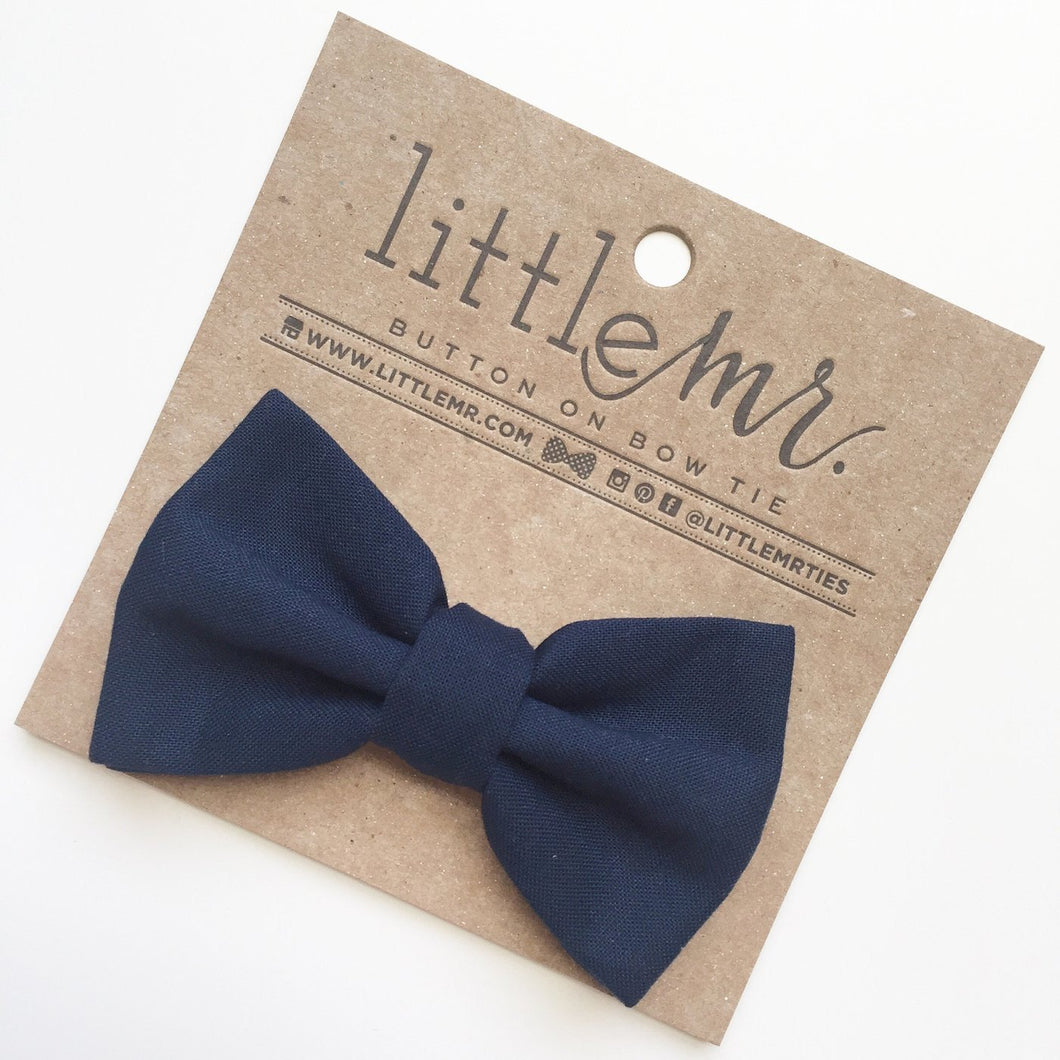 Little Mister Bow Tie - Navy - Bloom Kids Collection - Little Mister