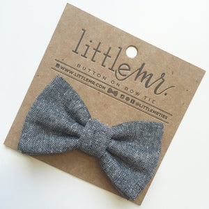 Little Mister Bow Tie - Charcoal - Bloom Kids Collection - Little Mister