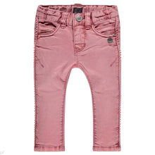 Babyface Girls Slim Fit Pant - Pink Ruby