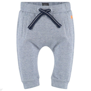 Babyface Baby Boy Pants - Blue Slub - Bloom Kids Collection - Babyface