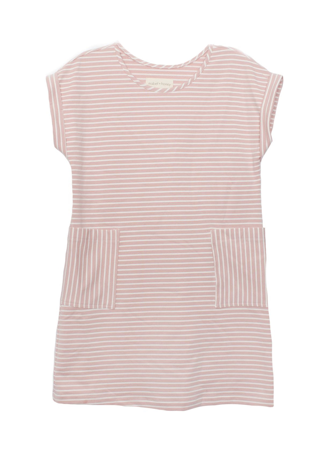 Mabel + Honey Pocket Knit Dress - Pink