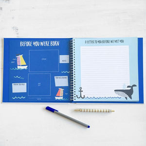 Lucy Darling Little Captain Memory Book - Bloom Kids Collection - Lucy Darling