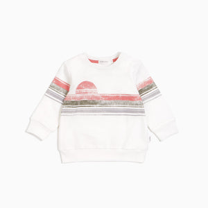 Miles Baby Lakeview Sweatshirt - Off White