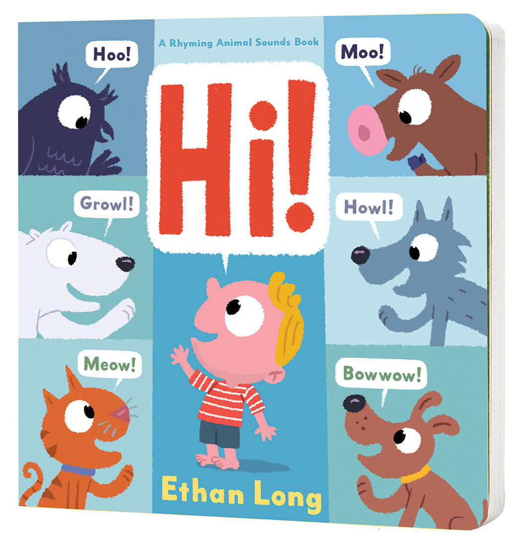 Hi by Ethan Long - Bloom Kids Collection - Hatchette Book Group