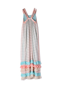 Isobella & Chloe Creamsicle Maxi Dress