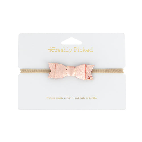 Freshly Picked Rose Gold Bow - Bloom Kids Collection - Freshly Picked