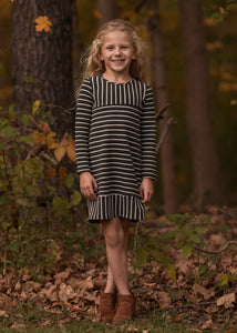 Mabel + Honey Sugar Plum Dress - Grey