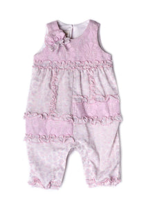 Isobella and Chloe Lavender Bouquet Romper - Bloom Kids Collection - Isobella & Chloe
