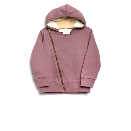 City Mouse Moto Zip Hoodie - Orchid - Bloom Kids Collection - City Mouse